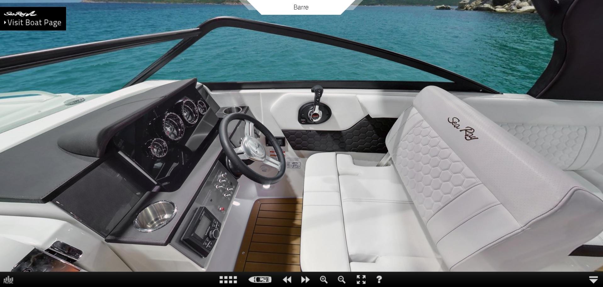 Sea Ray 250 SDX OB